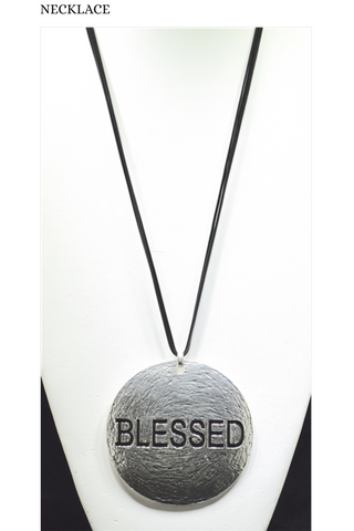 Long Blessed Necklace