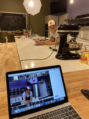 Streaming Cooking Classes