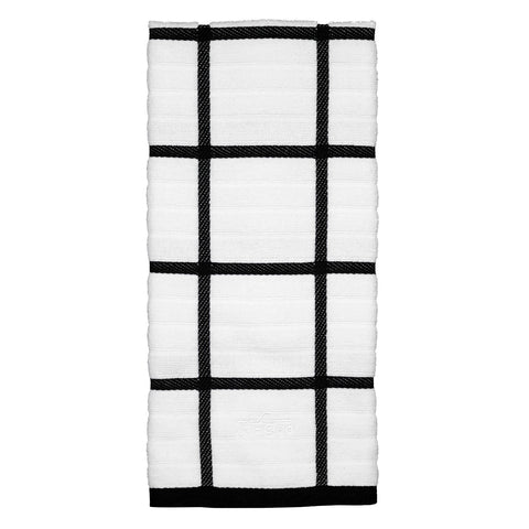 All-Clad Kitchen Towel - Check Black