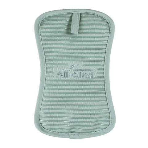 All-Clad Silicone Treated Pot Holder - Rain