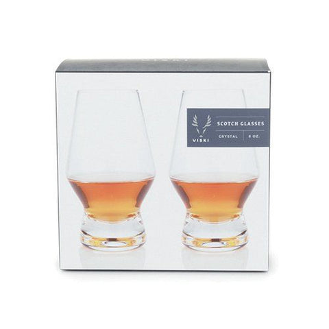 Viski Scotch (Aged Whiskey) Glasses - Set of 2