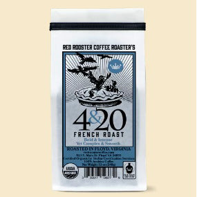 Red Rooster 4 & 20 French Roast Blend 12oz