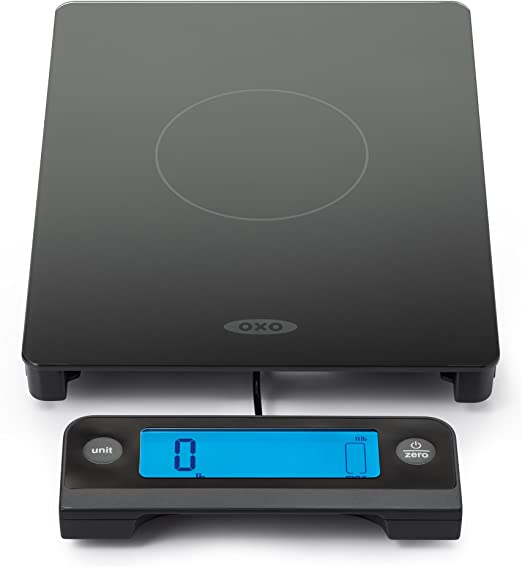 OXO 11LB Glass Scale - Black