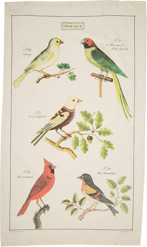 Cavallini & Co. Tea Towel - Birds