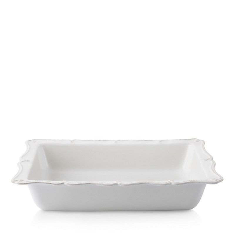 Juliska B&T Large Rectangular Baker - White