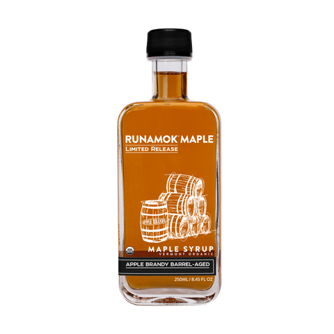 Runamok Maple - Apple Brandy Barrel Aged Maple Syrup