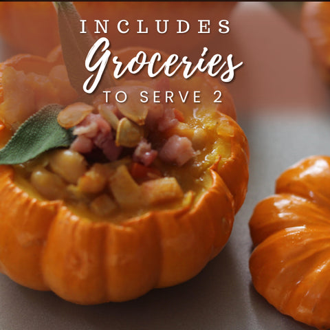 Pumpkin Stew & Pecan Pie Truffles (Virtual w/Local Groceries)