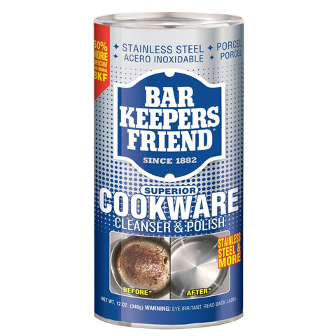 Bar Keeper's Friend Cookware Cleanser and Polish