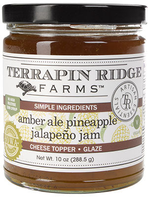 Terrapin Ridge Farms Amber Ale Pineapple Jalapeno Jam