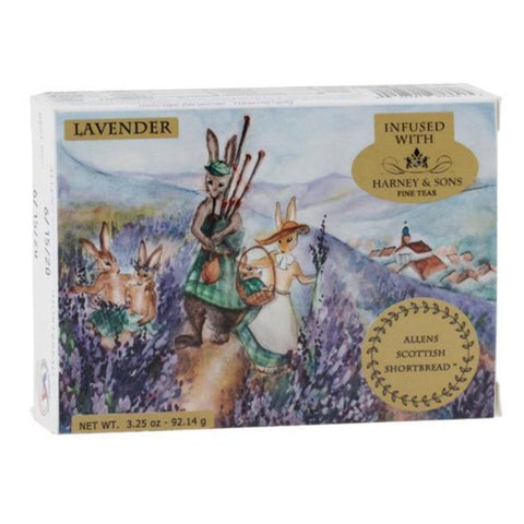 Allen's Scottish Shortbread Lavender - 4 Sticks