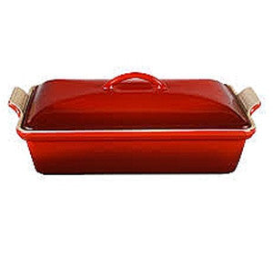 Le Creuset Covered Rectanglular Casserole Cerise