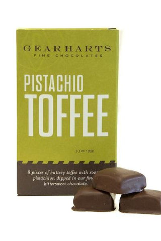 Gearharts Fine Chocolates Pistachio Toffee