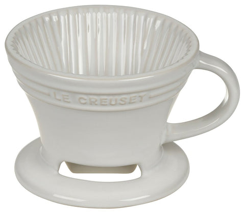 Le Creuset Pour Over Coffee Maker - White