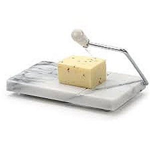 RSVP White Marble Cheese Slicer