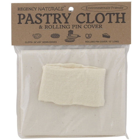 Regency Natural Pastry Cloth & Rolling Pin Cover