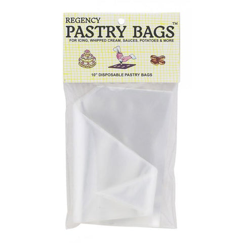 Regency Disposable Pastry Bags 10""