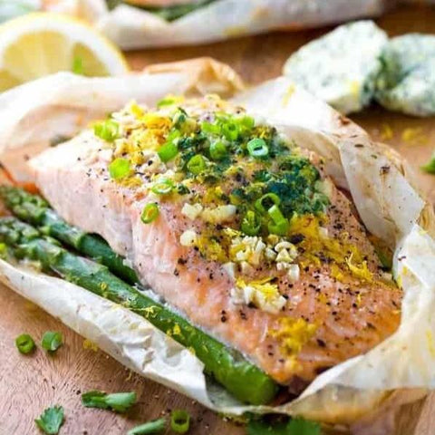 Salmon en Papillote (Hands-On)