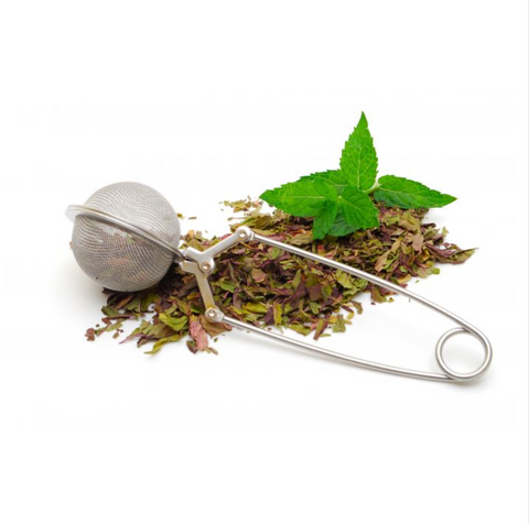HIC Snap Ball Mesh Tea Infuser