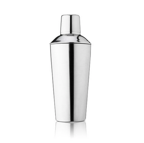 True Retro Stainless Steel Cocktail Shaker -  24 oz