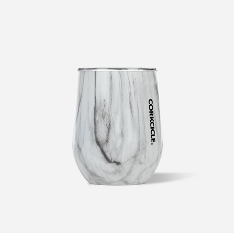 Corkcicle 12 oz Stemless - Snowdrift