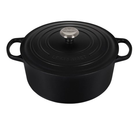 Le Creuset 7.25 Qt Signature Round - Licorice