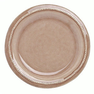 Juliska B&T Round Side Plate - Cappuccino Brown