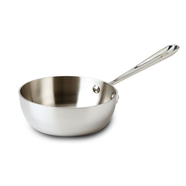 All-Clad d3 Stainless Saucier - 1 Qt