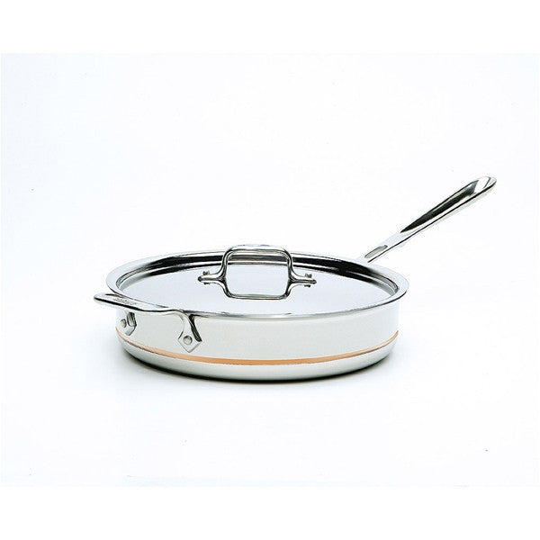 All-Clad 3 Qt Copper Core Saute Pan