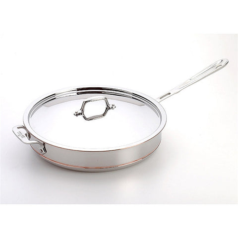 All-Clad Copper Core Saute Pan - 5 Qt