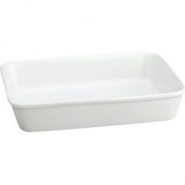 "HIC 9""x13"" Ceramic Lasagna Pan - White"