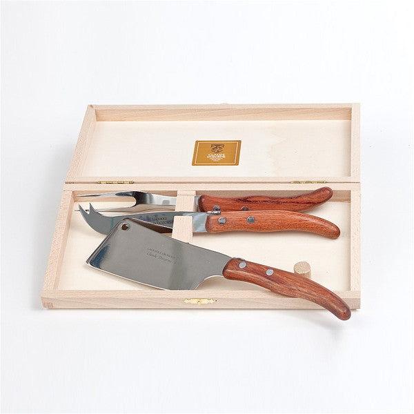Claude Dozorme Berlingot Cheese Set - Rosewood