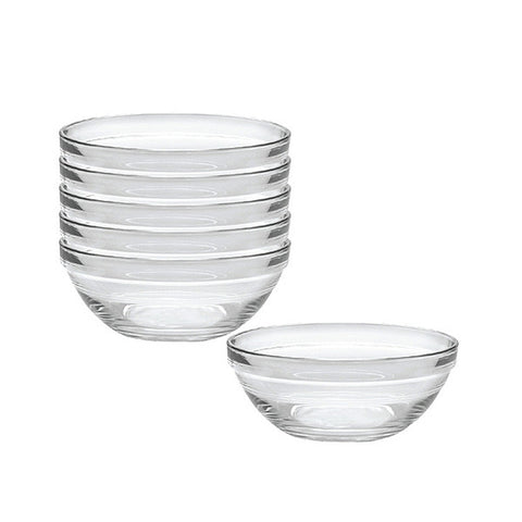 "Duralex 6.75"" Lys Stackable Glass Bowl"