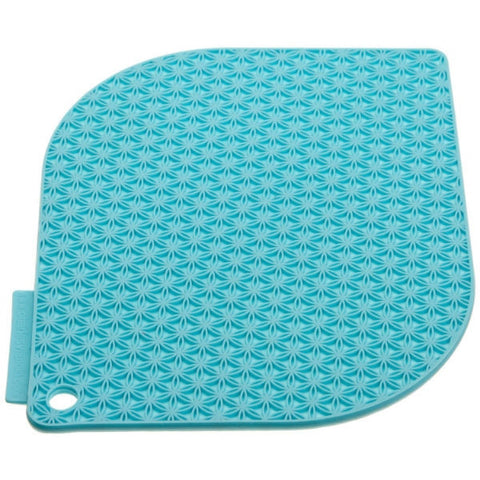 Charles Viancin Honeycomb Pot Holder - Turquoise