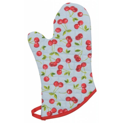 Now Designs Oven Mitt - Cherries