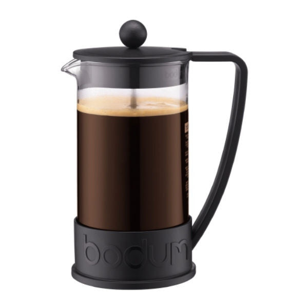 Bodum Brazil French Press - 8 Cup Black