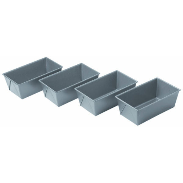 Chicago Metallic Mini Loaf Pans Commercial II - Set of 4