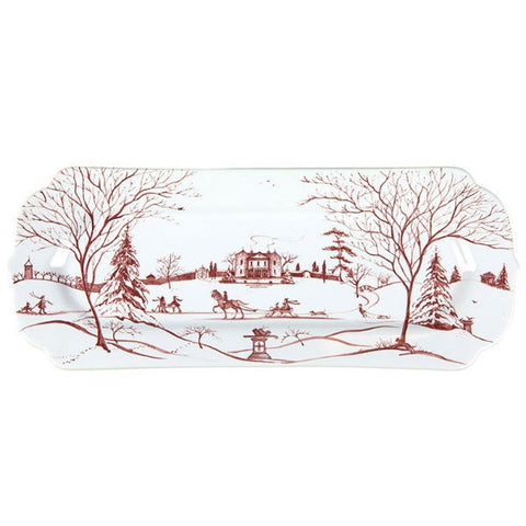 Juliska Country Estate Hostess Tray - Winter Frolic