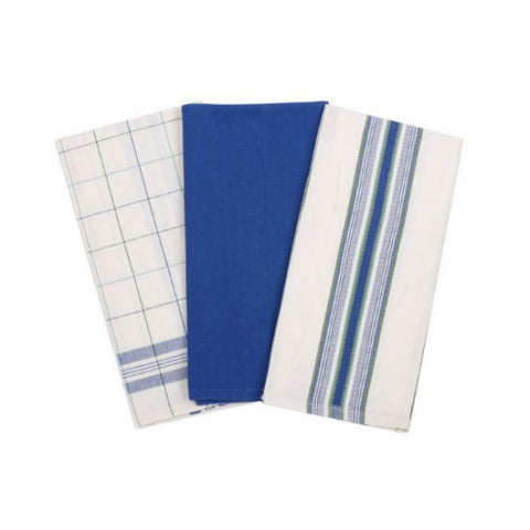 Le Creuset Kitchen Towels Set/3 Cobalt