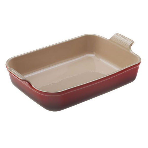 Le Creuset 4 Qt. Heritage Rectangle Dish - Cherry