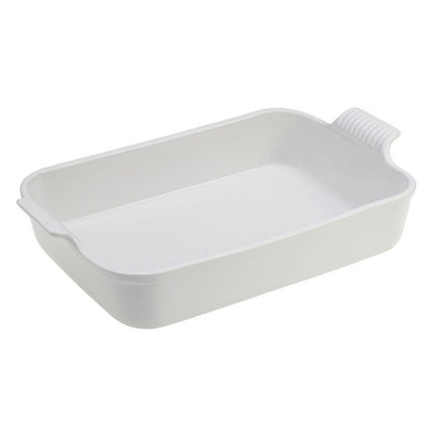 Le Creuset 4 Qt. Heritage Rectangle Dish - White