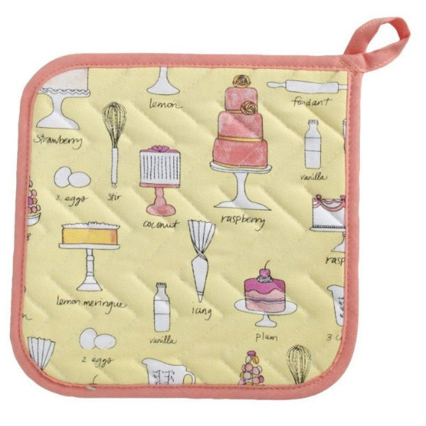 Now Designs Pot Holder - Bake a Cake