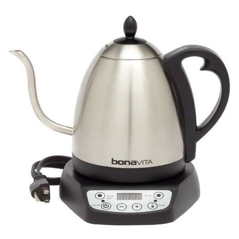 Bonavita Gooseneck Variable Temperature Electric Kettle - 1 Liter