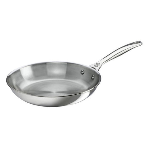 "Le Creuset 10"" Stainless Steel Fry Pan"