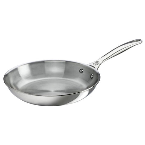 "Le Creuset 12"" Stainless Steel Fry Pan"