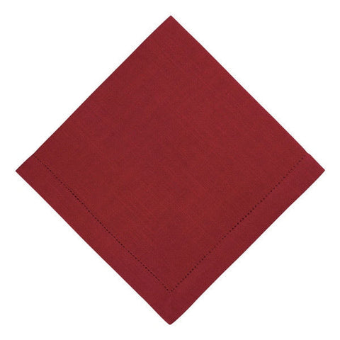 Whim Rustic Napkin - Red