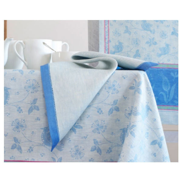 Linen Way Birds Napkins - Blue