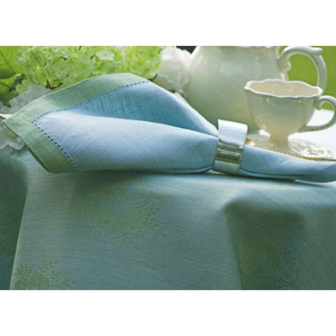 Linen Way Leaves of Italy Napkins - Green & Blue