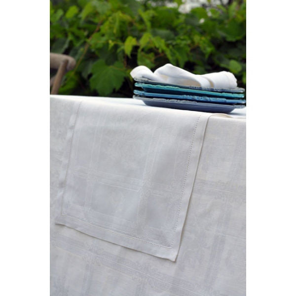 Linen Way Natalie Table Runner - White
