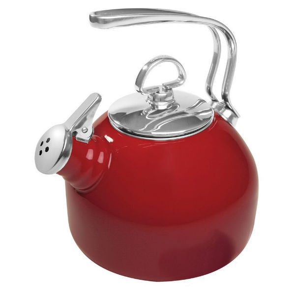 Chantal Classic Chili Red Teakettle - 1.8 QT
