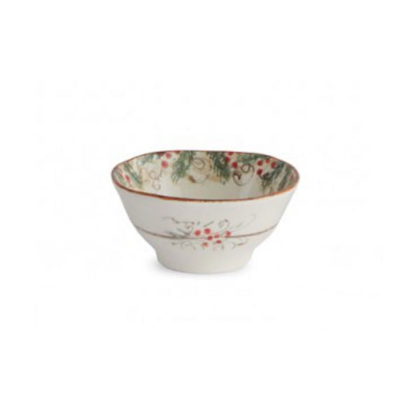 Arte Italica Natale Dipping Bowl